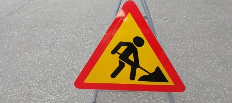 Продлили перекрытие двух улиц в центре Барнаула