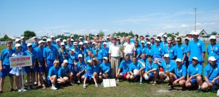В Алтайском крае проходит Олимпиада сельских спортсменов