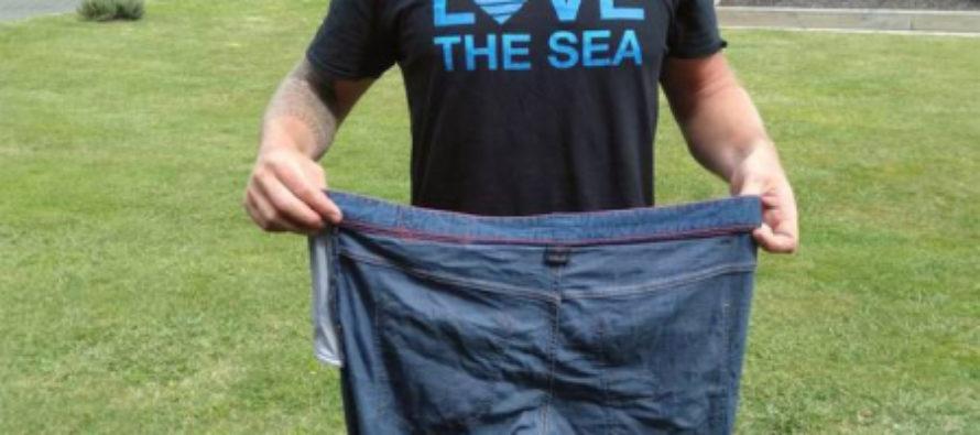 Парень спасся в открытом океане благодаря обычным джинсам, вы тоже так сможете