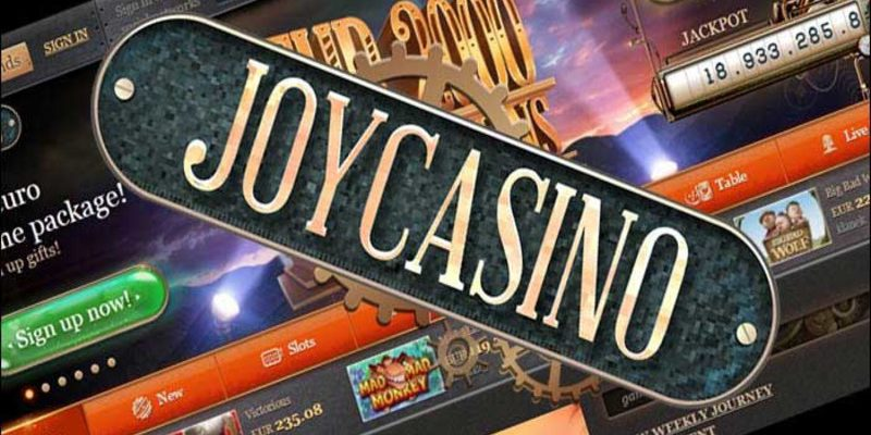 Бонусы, лотереи и промо акции ДжойКазино