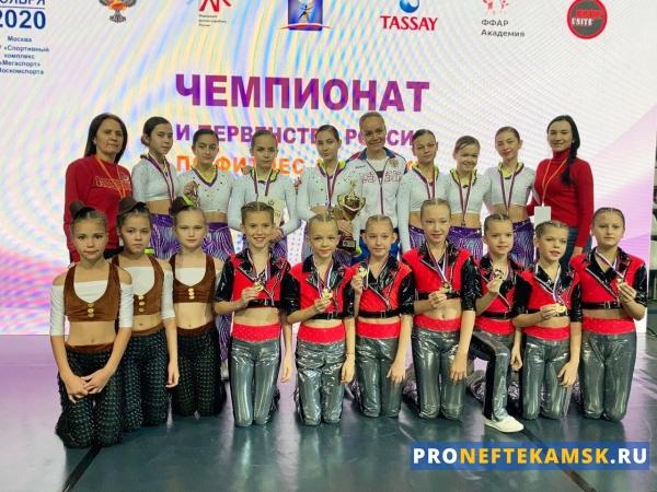 Команда из Нефтекамска завоевала путевку на чемпионат мира и Европы-2021 по фитнес-аэробике